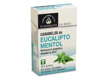 CARAMELOS DE EUCALIPTO MENTOL MODO DE EMPLEO